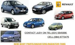 SUPPLIERS OF RENAULT NEW BODY PARTS-RADIATORS-RADIATOR