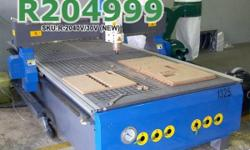 EasyRoute 2000�4000 3kW CNC Wood Router with Vacuum