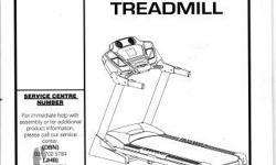 Beskrywing Spirit F8500 Treadmill for sale, Used