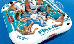 Fiesta Island Inflatable Eight Person Lounge Party in