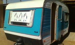 Sprite Caravan for sale. 6 Beds. 1972 model. Partially