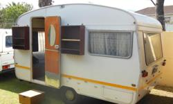 Very neat & well maintained Sprite caravan for sale