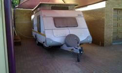 Hardly used, my grandfathers caravan and he has not