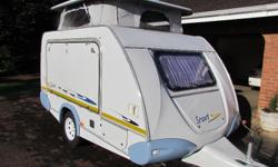 2008 Sprite Scout with full tent, split-unit air