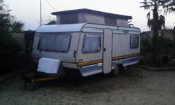 1987 sprite sport caravan for sale, comes with full
