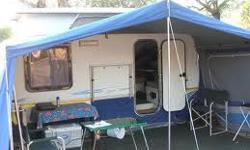 Toestand: Gebruik rally tent with 2 awnings for sprite
