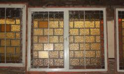Stianed glass windows. Sizes from 1.0m x 0.9m and 2.0m