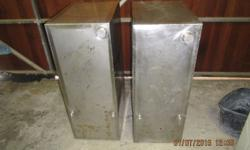 Stainless Steel fuel tank size L 860mm x W 330mm x H
