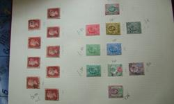 I have lots of stamps, first daycovers that I am