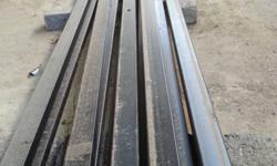 I have 12 steel lengths of 6m x 50mm x 25mm x 1.6mm