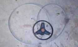 Steering helm with cable cable is 5.1 meters Reason for