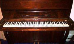 The piano is in good condition, just needs to be tuned