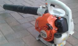 Stihl BG55 Leaf Blower, in good condition, only a year