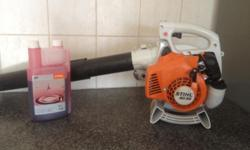 STIHL BG 55 Petrol powered leaf blower. +- 1 year