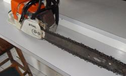 Stihl 600 mm chainsaw. Ms 440. Excellent working