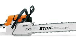 2 stihl chainsaws for sale hardly used. R5000 each or 2