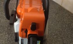 STIHL MS 170 Petrol powered chainsaw. (2 months old) 2