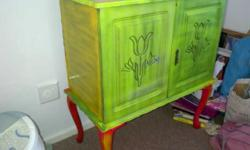 Selling my daughter's antique storage cupboard that was