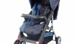 CHELINO NEW POLO STROLLER - FEATURES INCLUDE: 5 Point