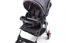CHELINO VIVO STROLLER - FOLDS COMPACT, FIVE POINT