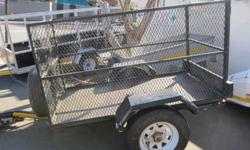 Strong HEAVY DUTY utility offroad 2 meter trailer with