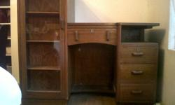 Stunning deco/1930s secretary desk / dressing table.