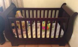 Hi there, Selling SLEIGH COT MAHOGANY!! EXCELLENT