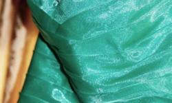 Size 8 to 10 -  Teal Green -  Dress was designed for my