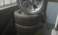 "New Mags with New tyres For sale  305/25/24"" R25000"