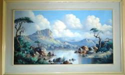 Stunning oil painting for sale, by Louis Albertyn.