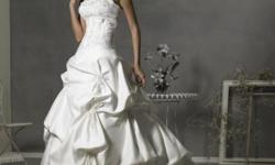 Beskrywing Stunning Wedding Gown - High Quality Satin-