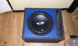 "12"" T3 audio t400 + audio gods monoblock 2000w and the"