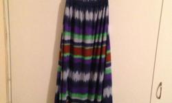 Beautiful long summer dress Size - large Price - R120