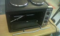 I HAVE A 2 PLATE SUNBEAM STOVE AND OVEN FOR SALE.