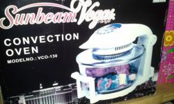 New Sunbeam Convection Oven Visit Bargain Box at c/o