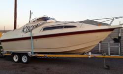 Sunseeker 21ft Cabin Cruiser with Brand New White