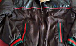 A Brand New Brown Gucci Diamante Jacket For sale, To