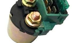Brand new starter solenoid/relay with fuse, fits most