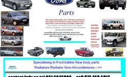 SUPPLIERS OF FORD NEW BODY PARTS -RADIATORS-RADIATOR
