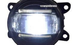 Suzuki Aerio front fog lamp assembly LED DRL daytime
