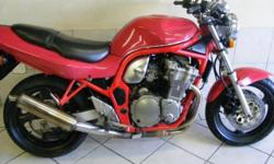 1998 Suzuki GSF 600 PRICE: R24900 Good Condition