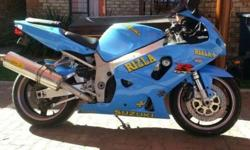 Suzuki GSX-R750 bike is spotless with lots of extras