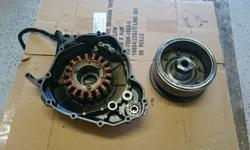 Suzuki TL 1000 R Stator coils,stator cover and fywheel