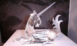 Swarovski Crystal Unicorn Figurine in mint condition