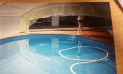 Swimming 365/24 build your own pool CANOPY Les time and