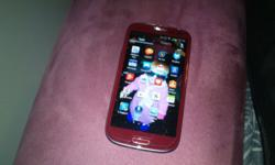 I have a s3 red edition with box and all accesories