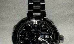 I have a genuine second hand tag heuer watch for sale.