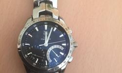 Tag Heuer link calibre s stainless steel black dial