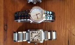 Selling high quality ladies second hand watches, hardly