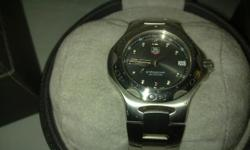 Beskrywing Tag Heuer Watch for sale. Pic Attached. With